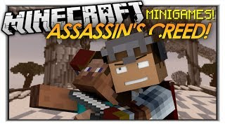 Minecraft Mini Game: ASSASSIN'S CREED! The Feathered Assassin!
