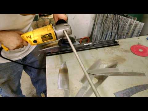 Angle Grinder Jig for knife making