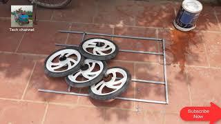 Electric car 4 wheels 12v - part 1
