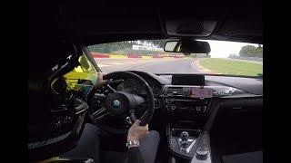 Spa Francorchamps 2'39 BMW M4 ClubSport Best Lap GT Performance Trackday