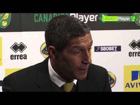 Chris Hughton On Norwich City Performance