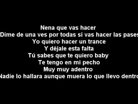 Izaak ft Cosculluela   Que Va A Ser De Mi *Letra*