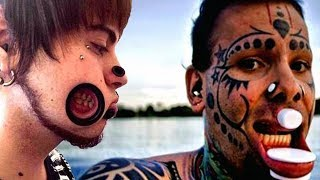 Top 10 EXTREME BODY MODS