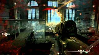 call of duty mw3 gameplay 1rst mision [HD](1080p) part 2