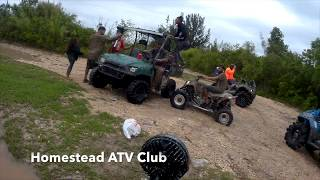 ATV CLUB OF HOMESTEAD, TV riding is fun. Well, not exactly fun, but exhilarating!
