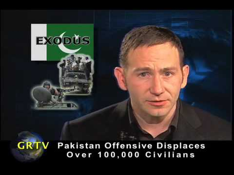 Pakistan Offensive Displaces Over 100,000