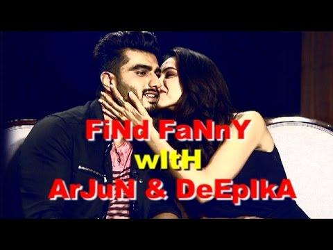 Deepika Padukone and Arjun Kapoor's CANDID Interview! - EXCLUSIVE!