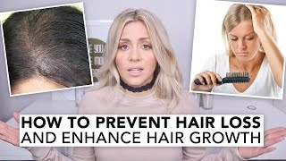 How To Prevent Hair Loss and Enhance Hair Growth