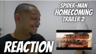 SPIDER-MAN: HOMECOMING - Trailer 2 REACTION!!