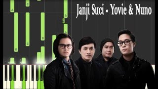 download lagu Yovie & Nuno - Janji Suci Piano Tutorial gratis