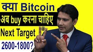 Bitcoin    buy      Next target 26001800