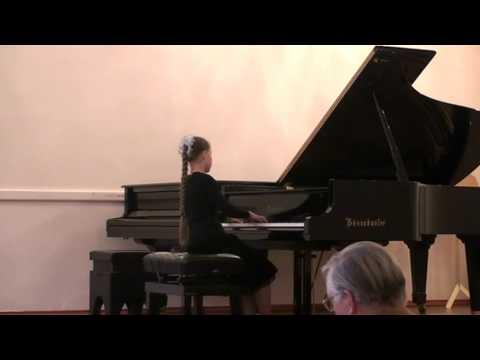 Schumann- Romance Fis dur op.28 №2- Marya Tikhomirova/ Шуман- романс № 2