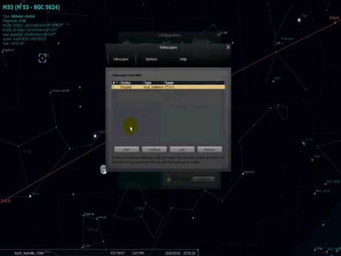Controlling the Meade ETX-LS 6 with Stellarium