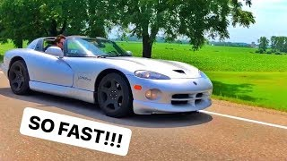 Surprise DODGE VIPER TOUR!