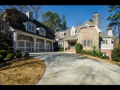 2 million dollar luxury home in atlanta ga 4992 rebel for Luxury house plans atlanta ga