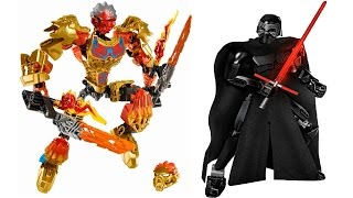 LEGO Bionicle & Star Wars 2016 sets pictures