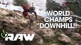 WORLD CHAMPS DOWNHILL - VITAL RAW!