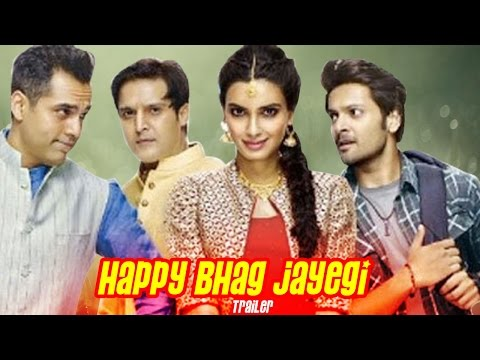 Happy Bhag Jayegi Official TRAILER ft Diana PENTY, Abhay Deol & Ali Fazal RELEASES