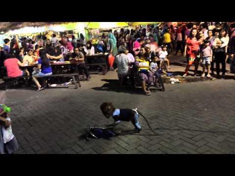 Indonesian Monkey Dance,  Tandak  bedes,