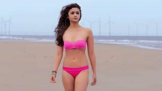 Alia Bhatt Hot Bikini Images