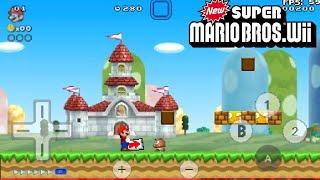 New super Mario Bros Wii HD textures para súper Mario 4 jugadores/ APK mod y mucho más