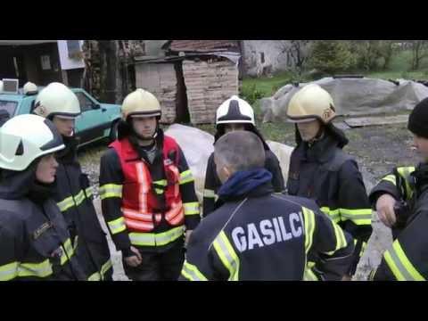 Spodnja Idrija - gasilska vaja 15 10 2016 #1