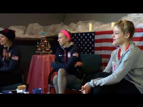 On the Rocks presents: Ashley Wagner, Polina Edmunds & Gracie Gold Training Camp in Graz Image 1