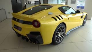 La Ferrari Aperta, La Ferrari, Enzo, F40, TDF, 599 GTO at Maranello Ferrari, Egham