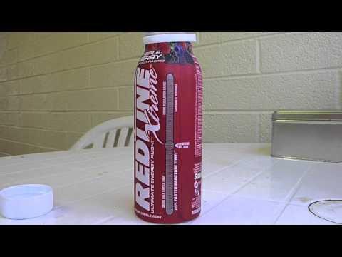 ENERGY DRINK REVIEW: Redline