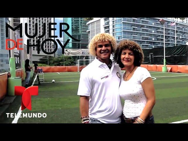 iVillage Mujer /Mujer de Hoy entrevista al Pibe Valderrama y su esposa