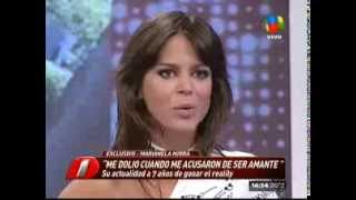 Marianela Mirra en Intrusos