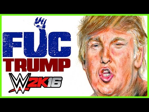 DONALD TRUMP & TED CRUZ vs. HALL & NASH! FUC Wrestling! (WWE 2K16 Gameplay)