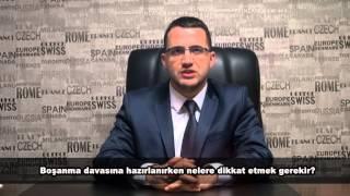 Boşanma davası açarken nelere dikkat etmek gerekir ? Avukat Ozan Kayahan