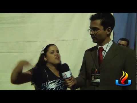 UMADEB 2012 - Dia 20-02 - Entrevista Cassiane