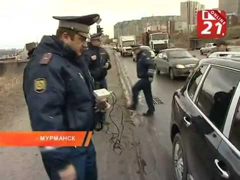 Сегодня полицейские вышли на борьбу с тонировкой