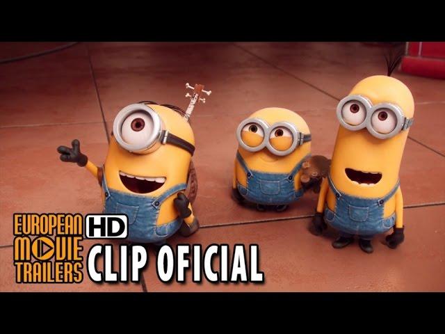 LOS MINIONS Clip oficial #1 en español (2015) HD