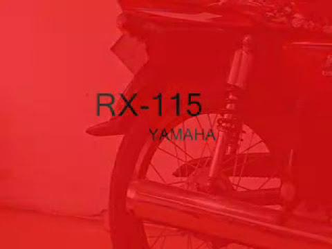 LA MOTO QUE SILBA - RX-115 YAMAHA