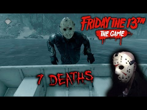 Friday the 13th the game - Gameplay 2.0 - Jason part 8 - 7 Deaths