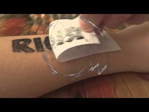 Как сделать себе татуировку на месяц в домашних условиях 380