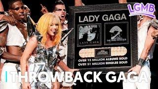THROWBACK GAGA #6: El día en que Lady Gaga celebró sus 64 millones de copias de vendidas