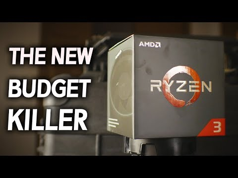 AMD RYZEN 3 1200 & 1300X Review - Smooth PuBG for $109?