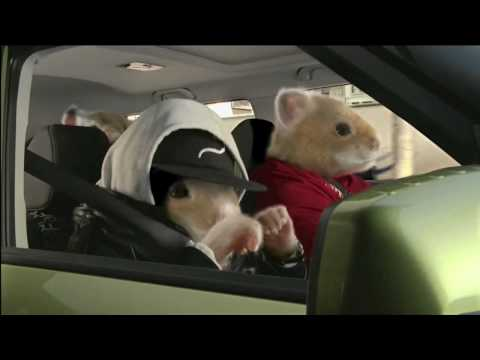 International ads : Kia motors - hamster rap ...