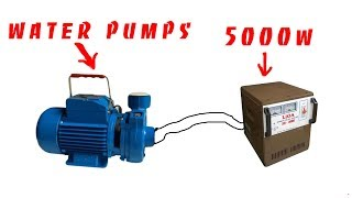 How To Turn Generator Water Pump 5000w creative every day