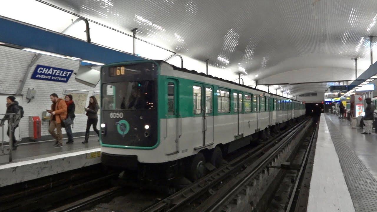 Paris metro line 11 mp 59 ch telet avenue victoria - 30 avenue de la porte de clignancourt ...