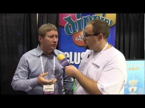 Interview with Dippin' Dots inventor at IAAPA Attractions Expo 2012 - Clusters, new flavors