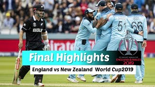 Watch England 🆚 New Zealand Final Match Highlights || ICC Cricket World Cup 2019 Highlights