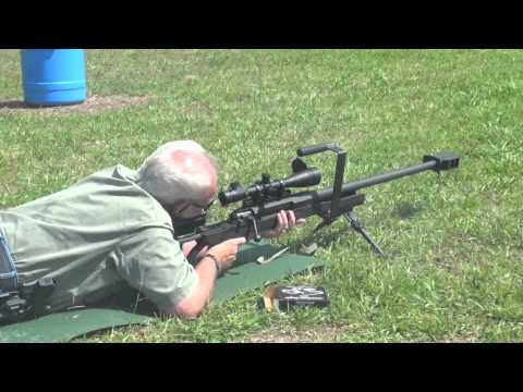 50 Caliber BMG Sniper Rifle Shoot-A-Matic