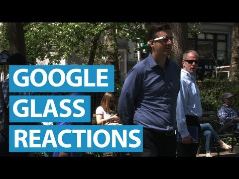 New Yorkers React to Google Glass | Mashable