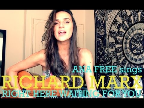 Richard Marx - Right Here Waiting For You (ana Free Official Cover) video