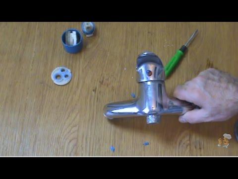 Как разобрать и отремонтировать однорычажный (флажковый) смеситель и заменить картридж самому